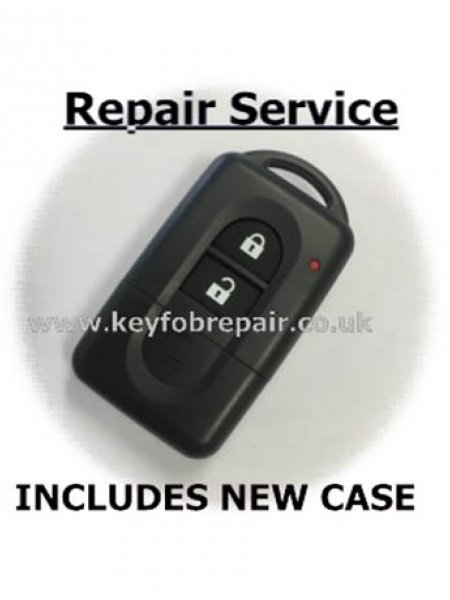 Nissan 2 Button Almera Micra X Trail Primera Etc Keyfob Repair Services